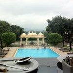 Breakfast table view