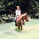 River crossing with Chantal