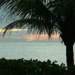 Sunset from Resort