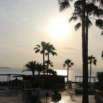 lever de soleil - piscine
