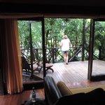 El balcon de la habitacion