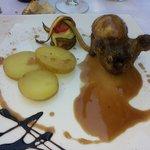 Pollo farcito di frutta secca