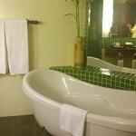 Nice Long Bath in the room