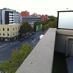 View to Lygon Street