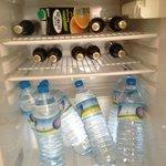 Well stocked fridge....
