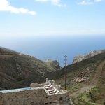 Uitzicht, prachtig op de Libische Zee (vanaf 720 m hoogte)