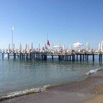 sunbathing pier