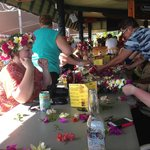 making leis