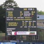 Main scoreboard