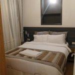 Bedroom - very comfortable double bed