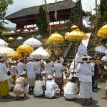 La fête au temple