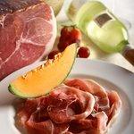 Italian Parma Ham with Cantaloupe Melon