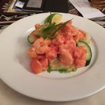 Prawn and papaya salad - Yum