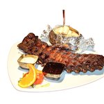 First class spareribs.. made in a special way.. try them!!