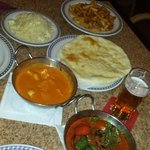 Great curry! Tikka Massala and Korma