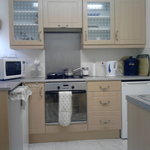 self catering cosy Nook Cottage kitchen