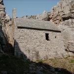 Chapel set into cliff