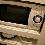 キッチン付シングル、電子レンジ