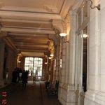 Le couloir d'accueil