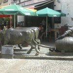statue place du marché