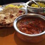 Briyani Chicken Rice & Chicken Tikka Masala with Bread