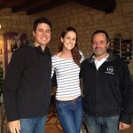 Us with Mikhael at his cellar door
