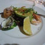 Avocado Seafood starter