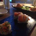 Part of 14 course degustation Kobe jones
