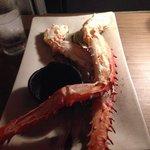 Alaskan crab claws - Kobe Jones