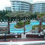 pool plus next door hotel