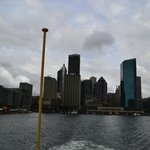 Вид на Сиднейскую гавань с ферри