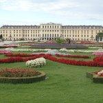 庭園から宮殿