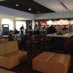 Starbucks of the lobby