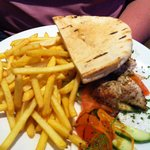 Chicken kebab - tastes great and a very generous portion