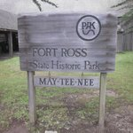 """Entrance sign with """"Native American Name at the bottom"""""""