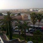 view towards Sale and the Atlantic Ocean