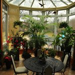 The Beechmount's conservatory, where breakfast is served each morning.