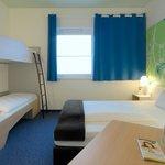 B&B Hotel Paderborn - Familienzimmer für 4 Personen