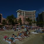 The Royal Hawaiian-Hotel vom Strand