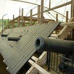 Ironclad war ship