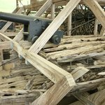 New timber combined with the old