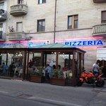 A Busy Pizzeria