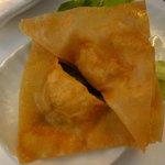 """Raviolis frits (entrée du menu """"vapeur"""")"""