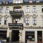 L'hotel côté Friedrich Ebert Strasse