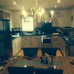 Montrose lodge; dining & kitchen area