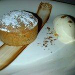 tortino con crema di nocciole