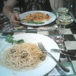 Half finished pasta :))