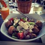 Greek salad! Fantastic