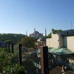Santa Sofia vista desde el hotel