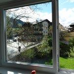 vista da janela do nosso quarto